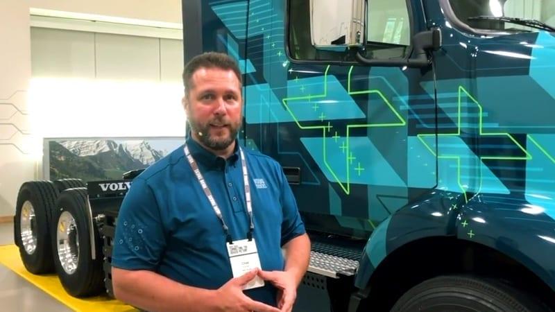 HDT Interview: Volvo's Electric VNR
