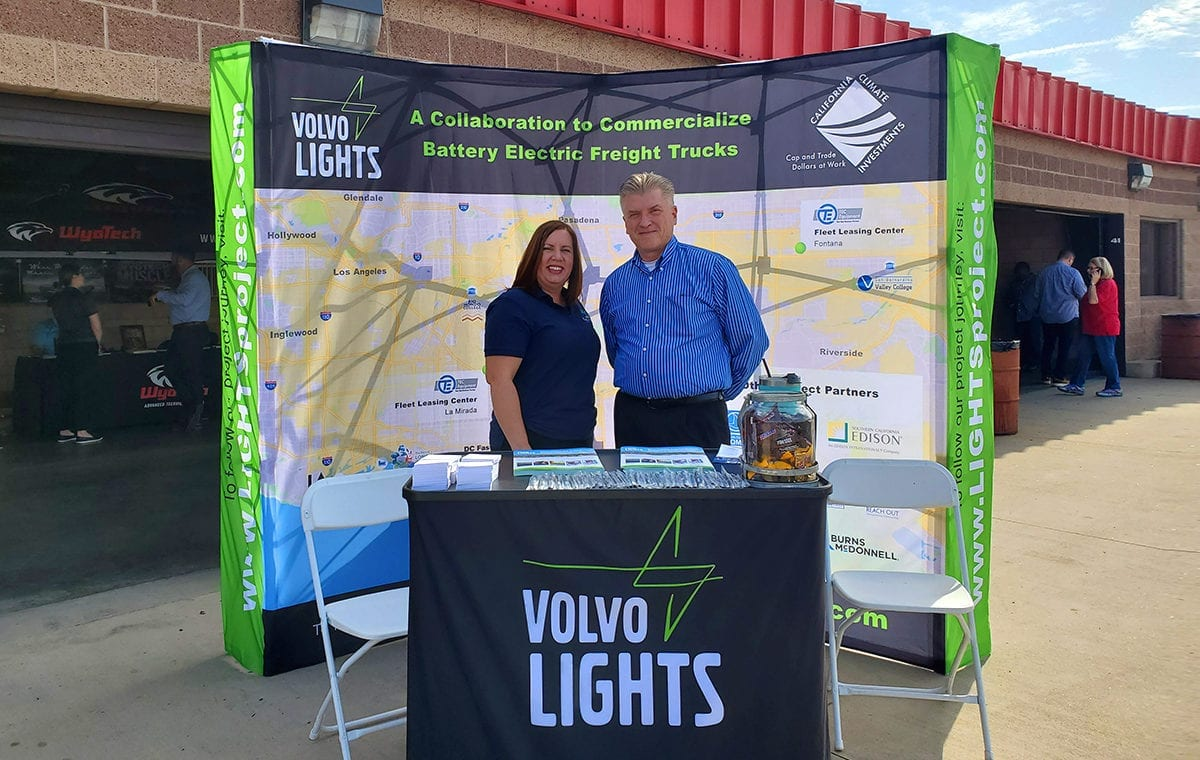 VolvoLIGHTS at the Truck and Automotive Career Expo (TRACX)
