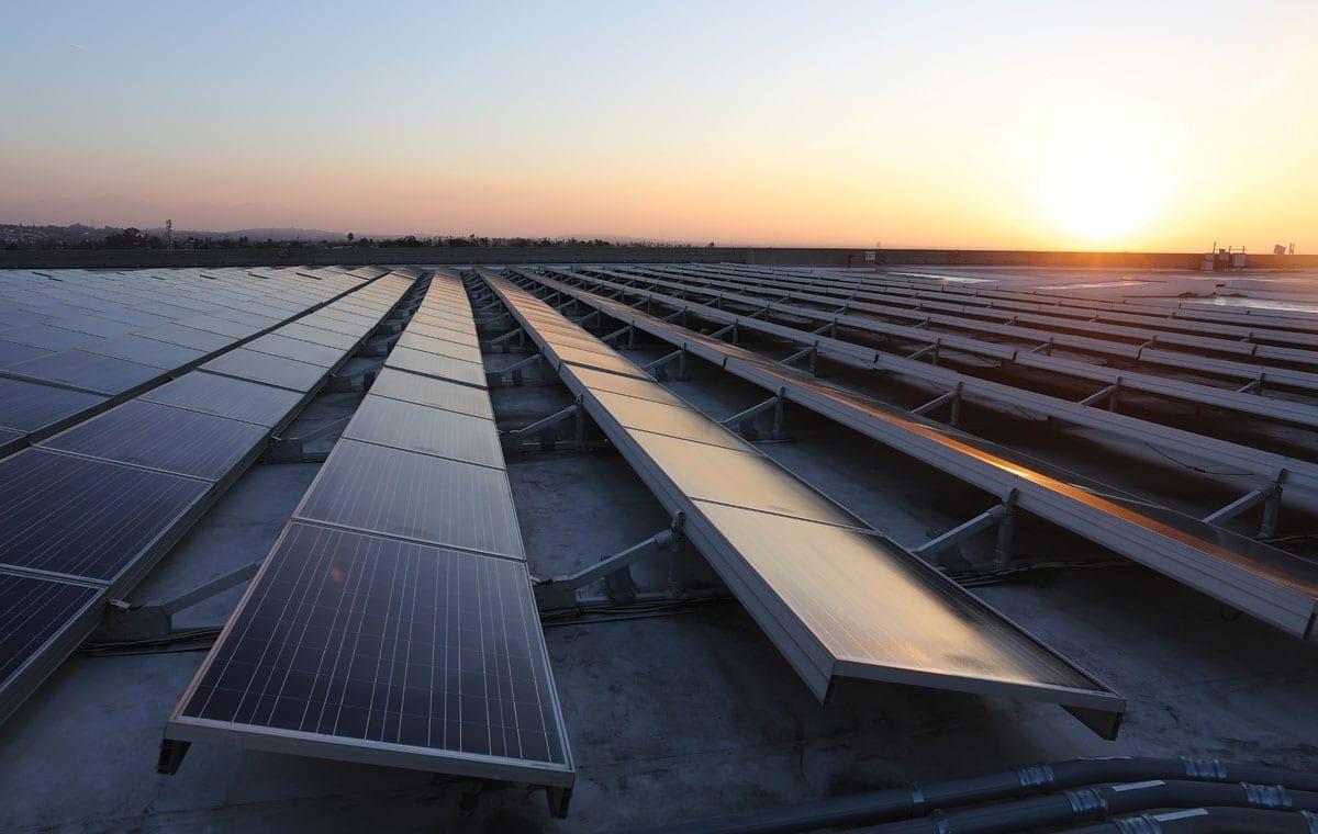 Dependable's Ontario Facility Solar Panels