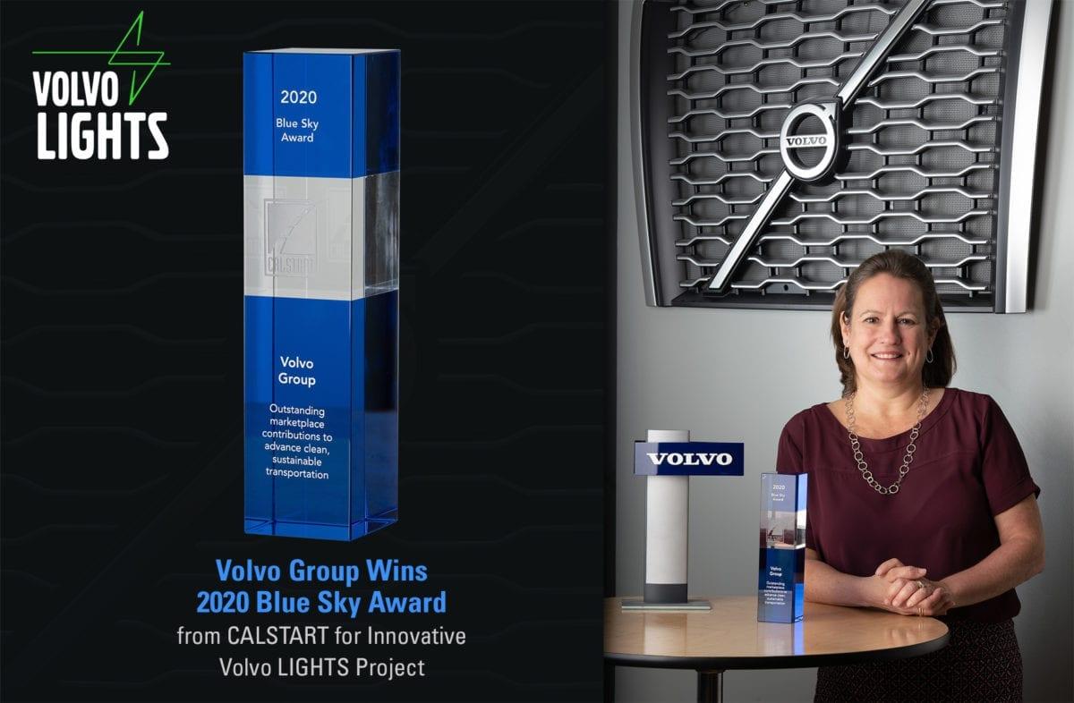 Volvo Group CALSTART Blue Sky Award